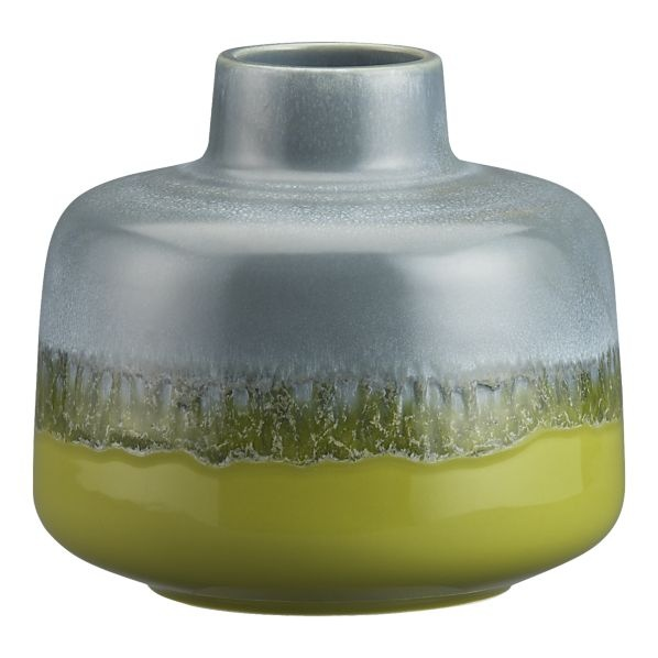 Tavo Green Vase in Vases~Sunroom AccessoriesGuest Room, Colors Combos, Colors Contrast, Room Decor, Living Room, Tavovasegreens12 Crates, Crates And Barrels, Green Vases, Tavo Green