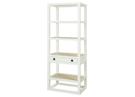 Polo Etagere In White