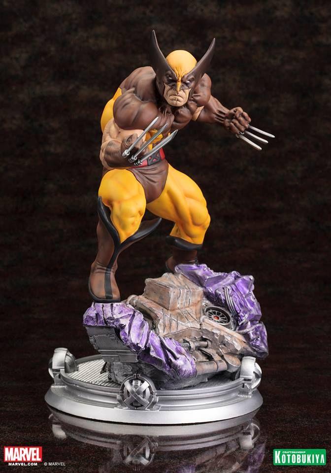 Pre-Order Kotobukiya Marvel Wolverine Brown Costume Statue