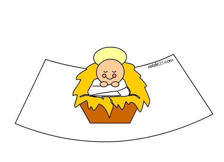 Altro materiale correlatoPresepe di carta in 3D – Gesù BambinoPresepe di carta – Madonna con Gesù BambinoFilastrocche Natale per bambiniSagome Madonna con Bambino GesùPresepe 3D da stampare – PecorellaPresepe 3D da stampare – AsinoPresepe 3D da stampare – Re Magio 3Presepe 3D da stampare – Re Magio 2Presepe 3D da stampare – GiuseppePresepe 3D da …