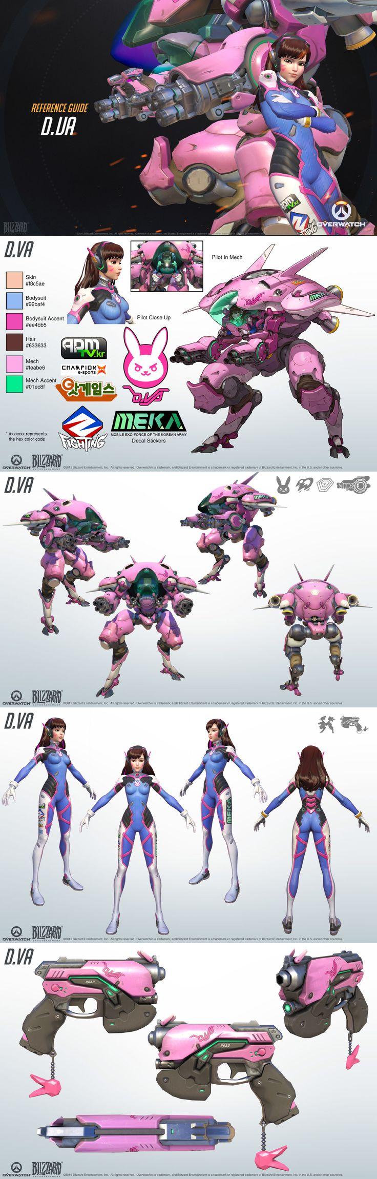 Overwatch character D.Va