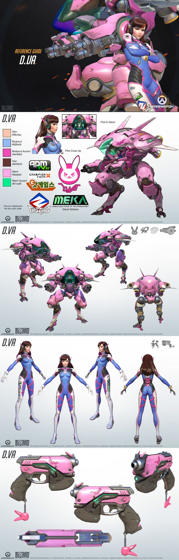 Overwatch Spotlight - D.Va! Use her mech in battle to give you the upper hand!