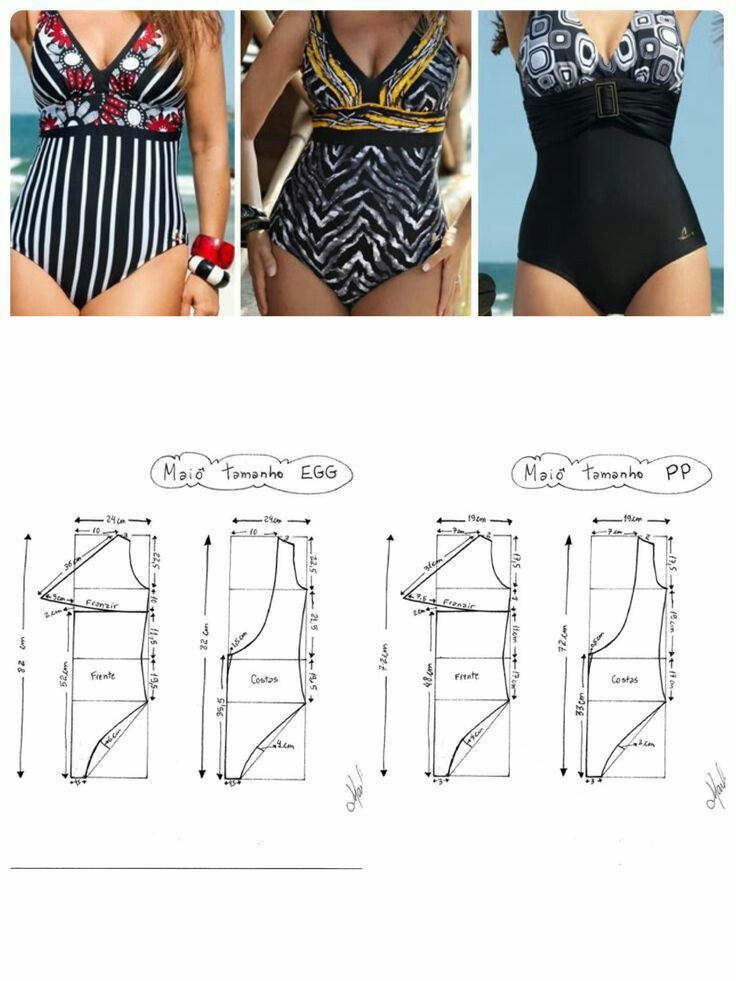 Traje de baño, swimming, top, trend, fashion, beach, Costuras ...