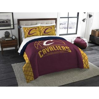 The Northwest Company NBA Cleveland Cavaliers Reverse Slam Full/Queen 3-piece Comforter Set | Overstock.com Shopping - The Best Deals on Teen Comforter Sets