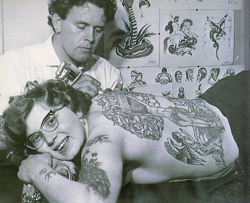vintage sailor tattoos