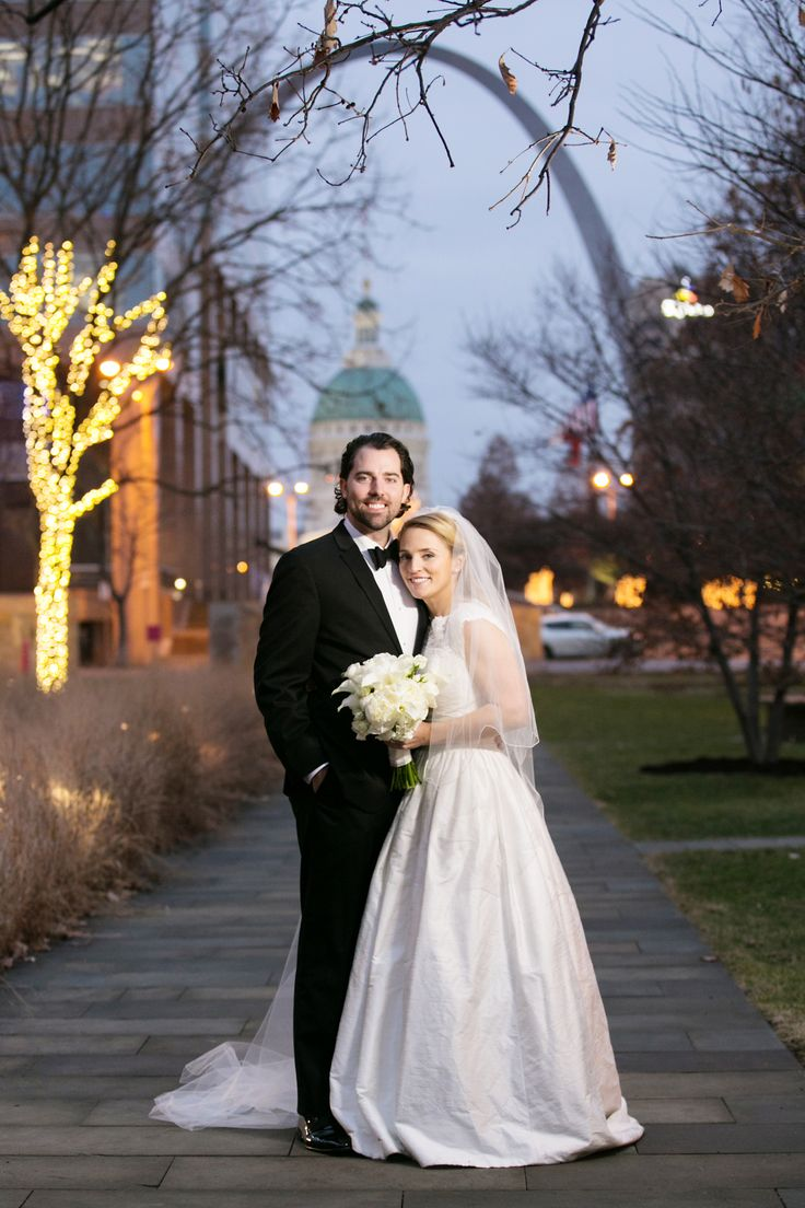 formal winter wedding at missouri athletic club in st louis missouri