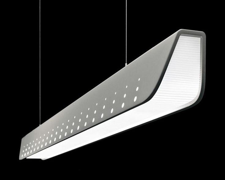 17 best images about led office lighting on pinterest for Suspente luminaire