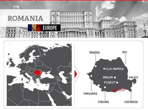 Facts and figures on #Romania's #energy, #economy and demographics http:/