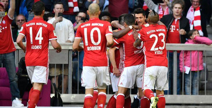 Bayern zerlegt BVB - Bayern München ist bereit für die Champions League am Mittwoch: Gegen Borussia Dortmund gewann der Rekordmeister verdient mit 4:1.