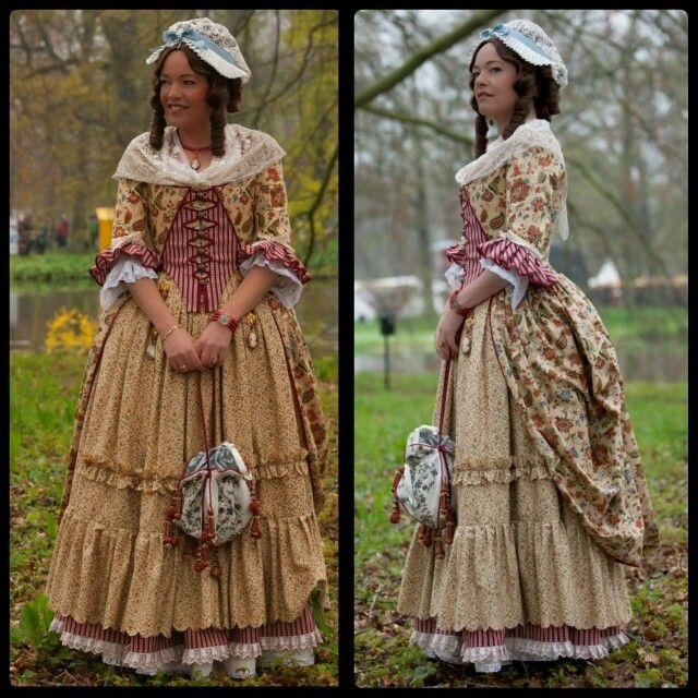 eighteenth century colonial costumes virginia
