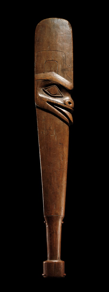 A FISH CLUB,  HAIDA Indians are original people of the Pacific Northwest Coast. Their homelands are the islands near the coast of southern Alaska and northwest British Columbia, particularly the Haida Gwaii archipelago and Prince of Wales Island.