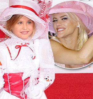 Dannielynn Birkhead is the image of her mom Anna Nicole Smith at Kentucky Derby in Louisville