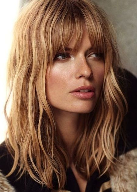 19 Hairstyle ideas with bang you love