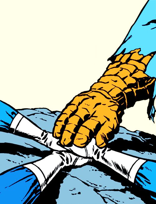 All 4 One in Fantastic Four #1 (1961)