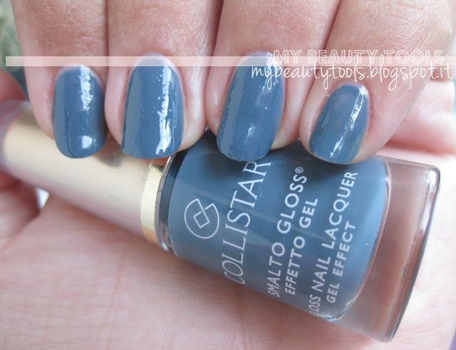 Collistar Gloss Nail Gel Effect no 567 Chic Navy