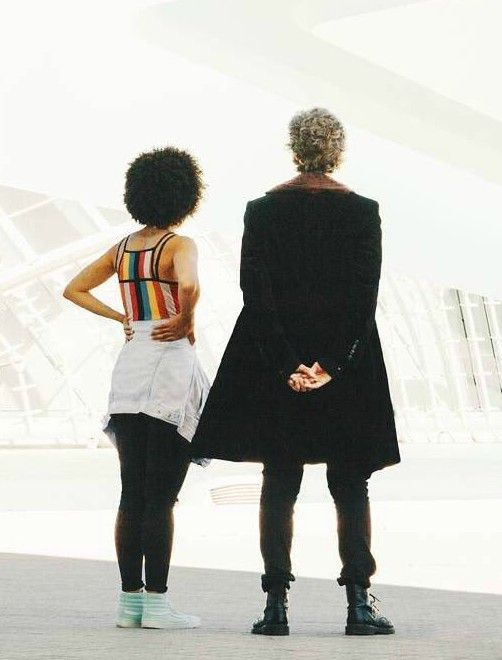 Bill (Pearl Mackie) & The Twelfth Doctor (Peter Capaldi) Ready for adventure!