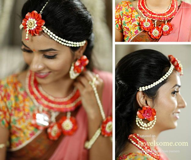 Fresh flower jewellery design