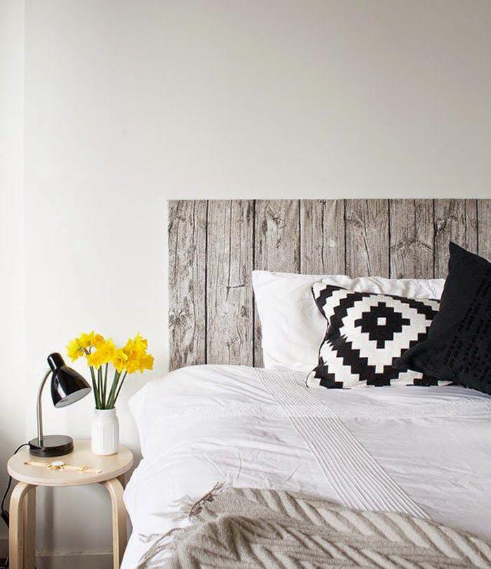 Ikea Hacks Wood Fabric Headboard Decor Ideas Pinterest
