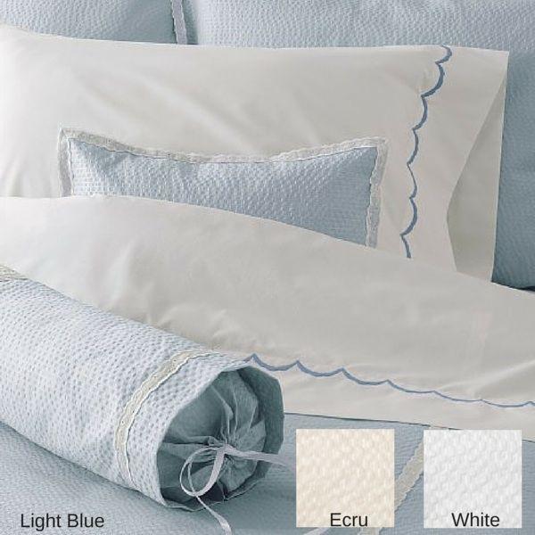 Matouk Bed Linens | Plisse Blanket Cover