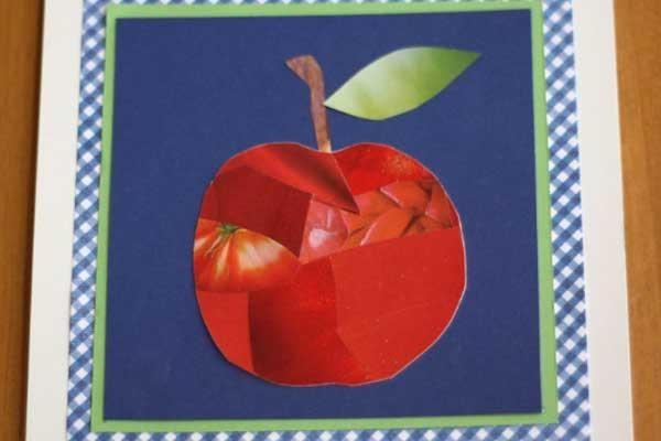 rosh hashanah preschool art