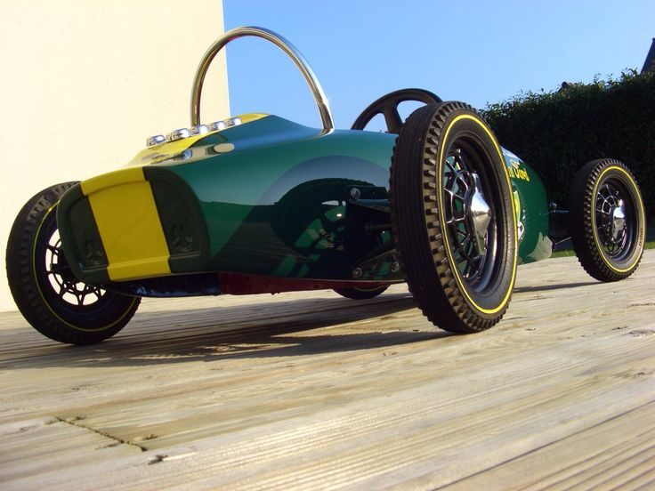 how to build a soapbox car with pedals