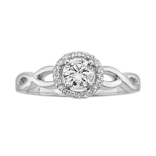 Best Fred Meyer Jewelers ct tw Diamond Solitaire Engagement Ring