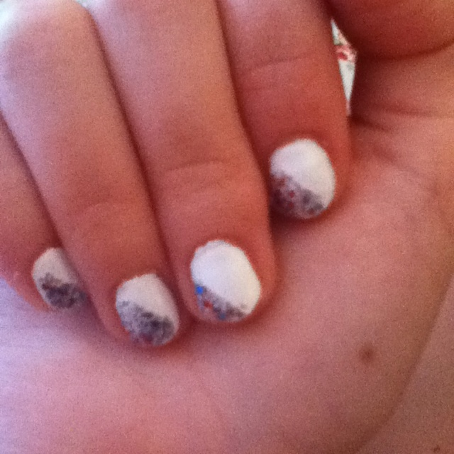 Whose awesome nails are these?? :)Bored Easily, Awesome Nails, Nails Fun