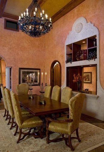 Tuscan Villa | Tuscan House · Toskanische SpeisesäleKronleuchter IdeenKronleuchterToskana  ...