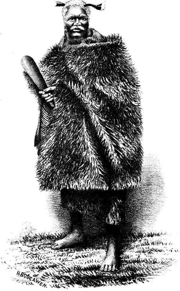 Heuheu. — Head Chief Of Taupo