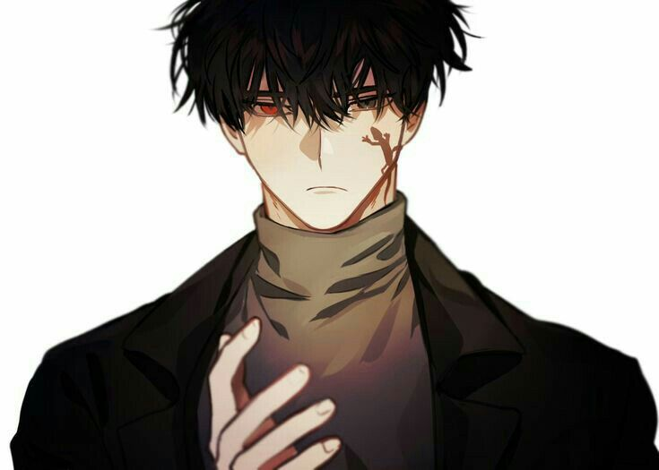 Anime Boy In 2020 Black Hair Anime Guy Dark Anime Guys Handsome Anime Guys