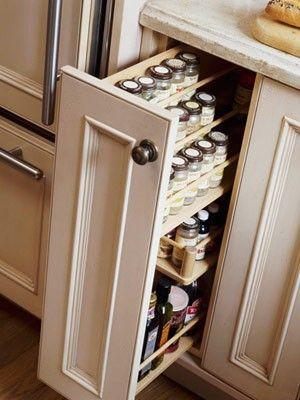 Kitchen storage design spice racks 32 Super Ideas