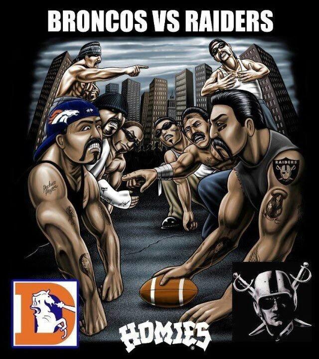 Broncos -vs- Raiders