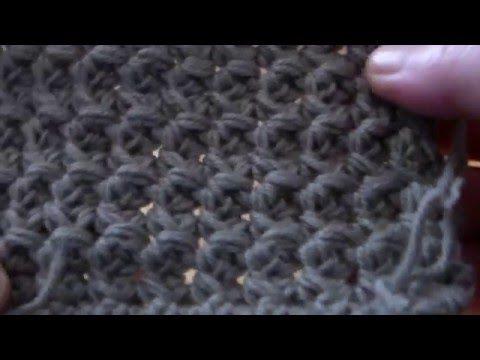 Scuola di uncinetto Allegretta Handmade Lez. 13: Punto incrociato - YouTube
