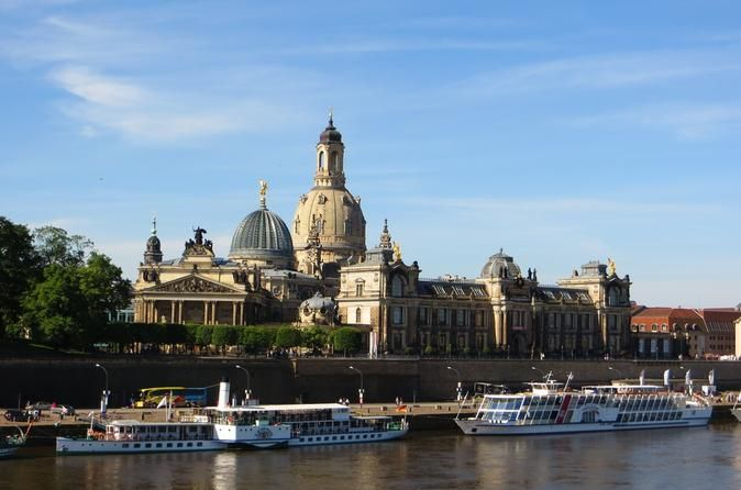 "Full-Day Private Tour of Dresden from Prague 			Take this private 10-hour full-day tour to Dresden from Prague and explore the rich cultural history of this German city located at the Elbe river. See the the most beautiful places in Dresden with a professional local guide and visit the Zwinger Gallery, Frauenkirche, the porcelain mural ""Procession of Princes"", Albertinum as well as Brühlsche Terrace. 					Meet your private English-speaking driver at the lobby of your Prague ho..."