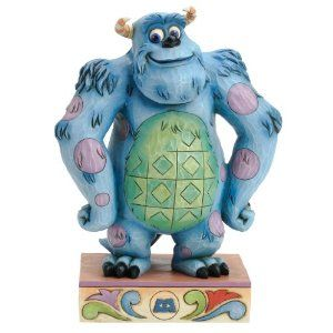 Just look at the detail on this Jim Shore Sulley piece! Combining elements of folk art with a vibrant color pallet applied to traditional themes this whole collection is guaranteed to make this Disney fanatic in your life (and we all have one of them) elated!