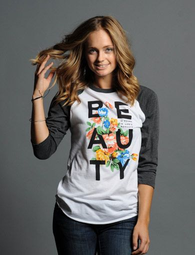 Love this Sevenly shirt that supports teens battling depression! Every item purchased provides $7 to therapy, counseling & suicide prevention. Help every teen find beauty in life's moments ► https://www.sevenly.org/product/52586bdbfd4cefd902000005/?cid=InflPinterest0005Joanna