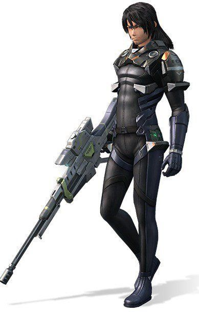 Lao - Xenoblade Chronicles X;  One of BLADE's team leaders. His combat ability and sense of judgment is said to have been well-noticed by Elma. Lao has a sensitive side in spite of his looks, speech, and overall cool image. A Passionate man deep down to his heart. Lao has been friends with Doug since their days in the United States Army.