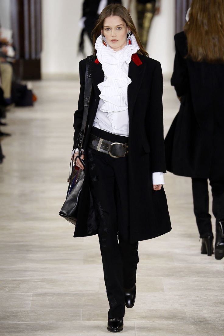 Ralph Lauren Fall 2016 Ready-to-Wear Fashion Show - Angel Rutledge