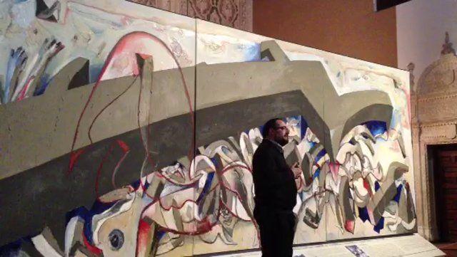 """""""Shoah 1492-1945. En memoria de la expulsión de los judíos españoles y de las víctimas del Holocausto"""", de Wolf Vostell, es la pieza invitada de 2014 al Museo. Exposición temporal """"El Greco y Vostell, dos forasteros en las Españas""""."""