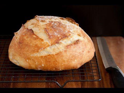 No Knead Artisan Bread - YouTube