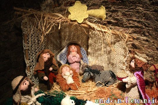 How to Make a Nativity scene creatively with wool and crochet DIY