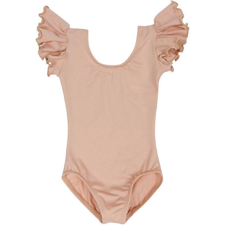 NUDE SKINTONE BEIGE Leotard for Toddler & Girls - Flutter / Ruffle Short Sleeve by TheLeotardBoutique on Etsy https://www.etsy.com/listing/163222339/nude-skintone-beige-leotard-for-toddler