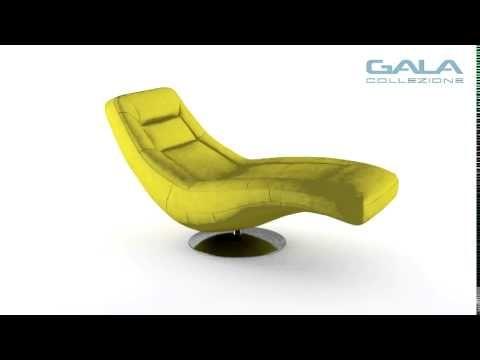 Szezlong to rodzaj wygodnego fotela z wydłużonym siedziskiem, na którym można zrelaksować się w pozycji półleżącej. W szezlongu Orio jest dodatkowo funkcja relaksu - zobacz, jak z niej korzystać.  #GalaCollezione #meble #szezlong