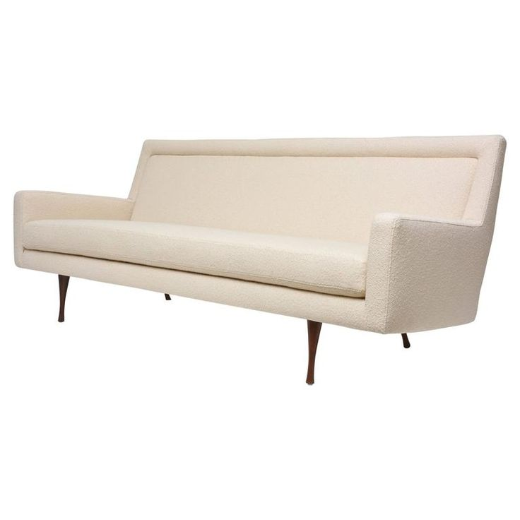 Paul McCobb Symmetric Group Sofa for Widdicomb | From a unique collection of antique and modern sofas at https://www.1stdibs.com/furniture/seating/sofas/