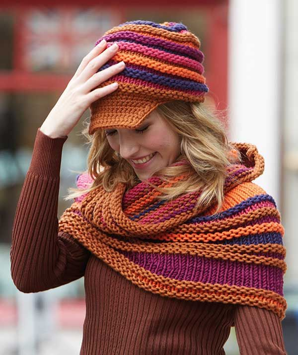 Free Knitted Snood Patterns : Shoulder Warmer - Free Knitted Pattern - (us.schachenmayr) Knitting Pinte...