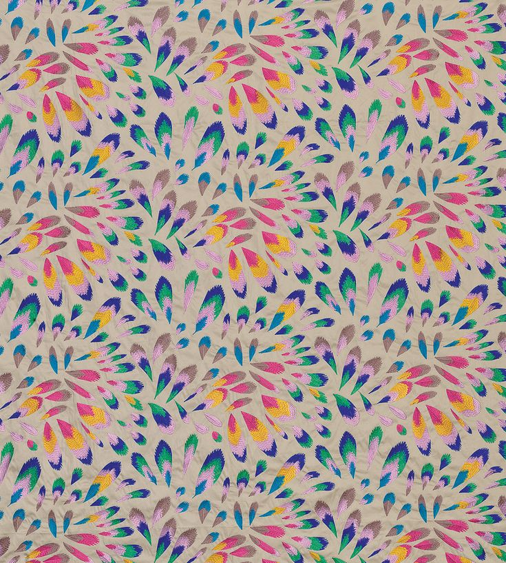 Feathers | Fombelle Fabric by Lorca | Jane Clayton