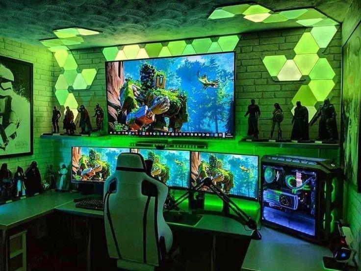 40 Perfect Game Room Ideas Ideias Para Sala De Jogos Salas De