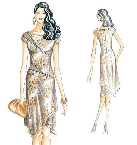 Marfy Dress 2449