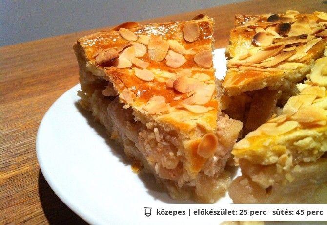 Bécsi almás pite