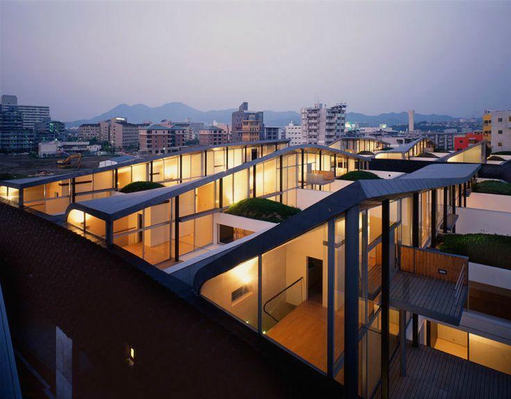 Nexus housing fukuoka japan oma office of - Office for metropolitan architecture oma ...